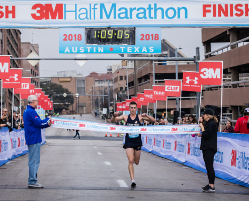 3M Half Marathon Winner Results