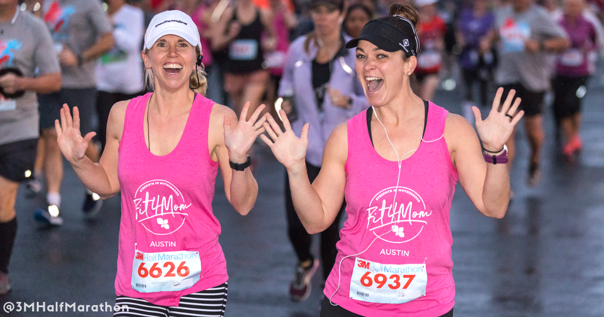 Make matching shirts as a perk to grow your 3M Half Marathon team.