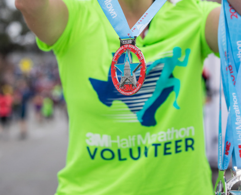 2019 3M Half Marathon volunteer team