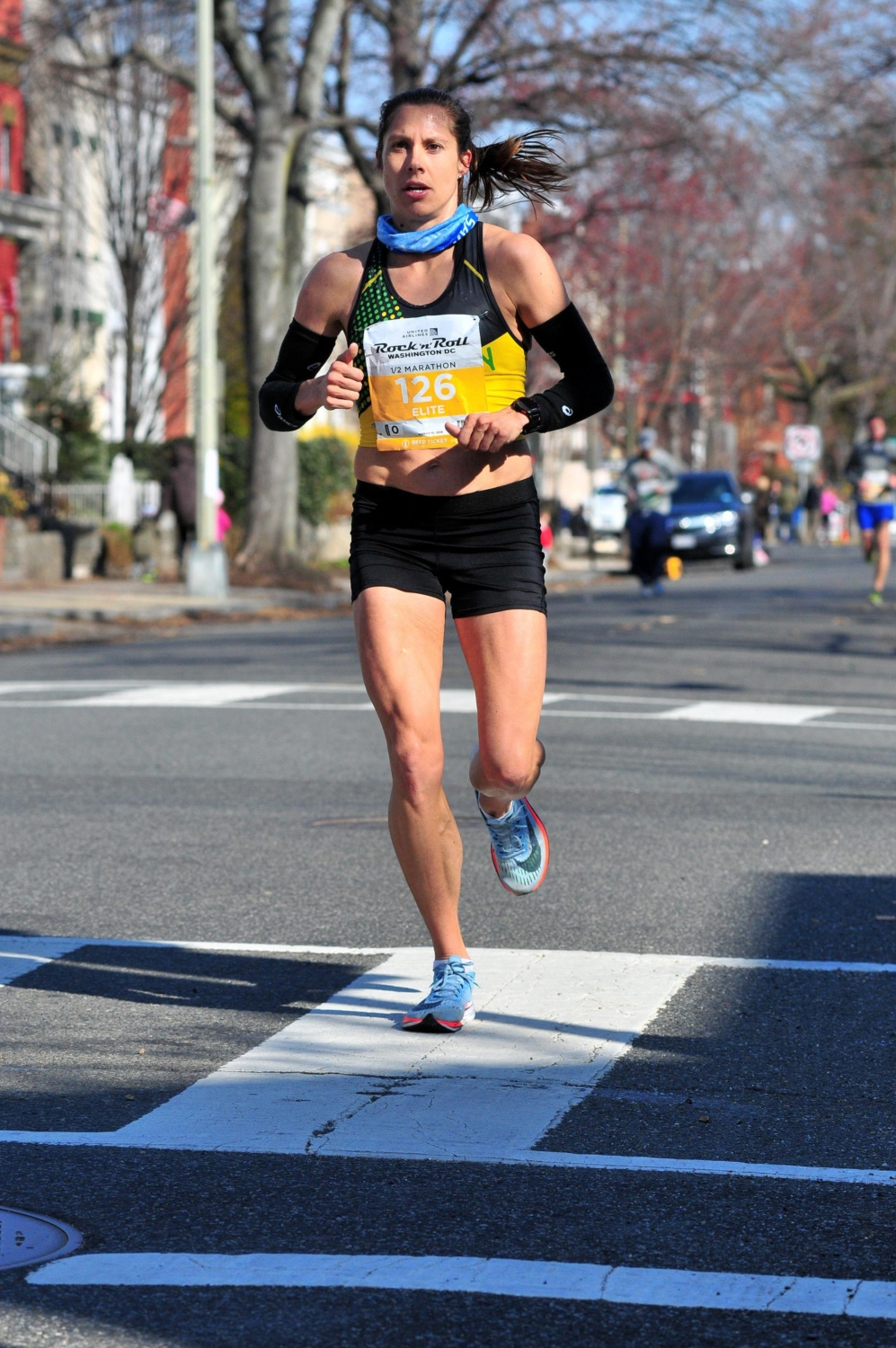 Sarah Bishop is one of the elites Running the 3M Half Marathon
